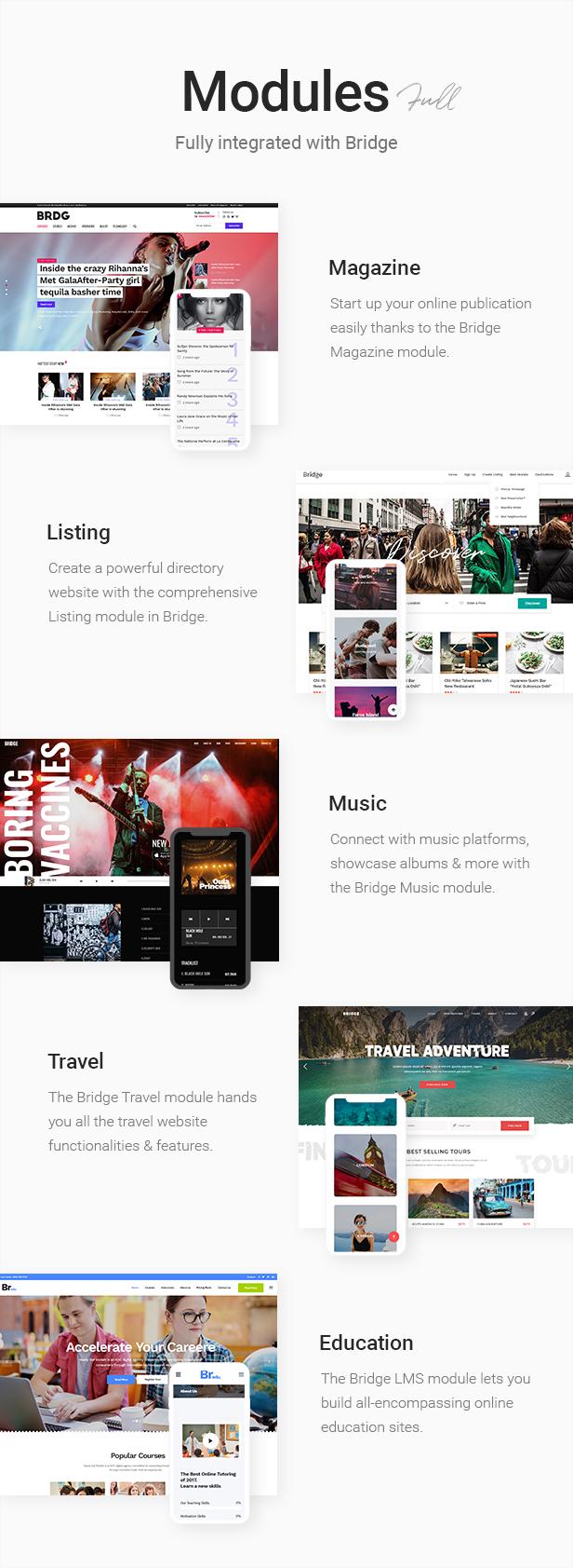 Bridge - Creative Multipurpose WordPress Theme - 10