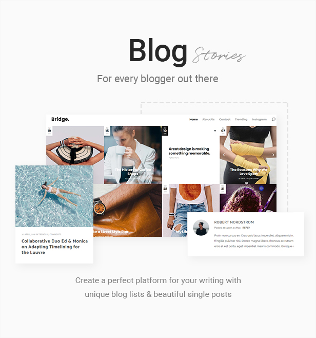 Bridge - Creative Multipurpose WordPress Theme - 15