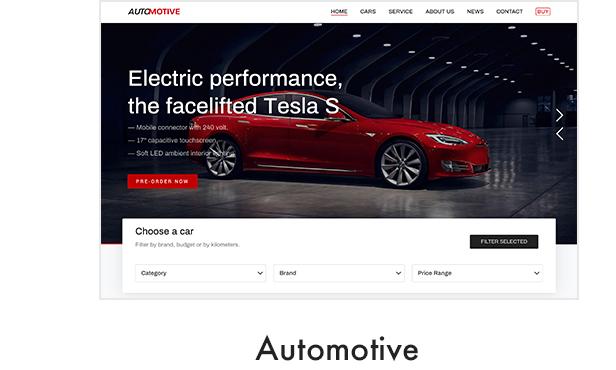 Automotive (Car Dealer) Demo