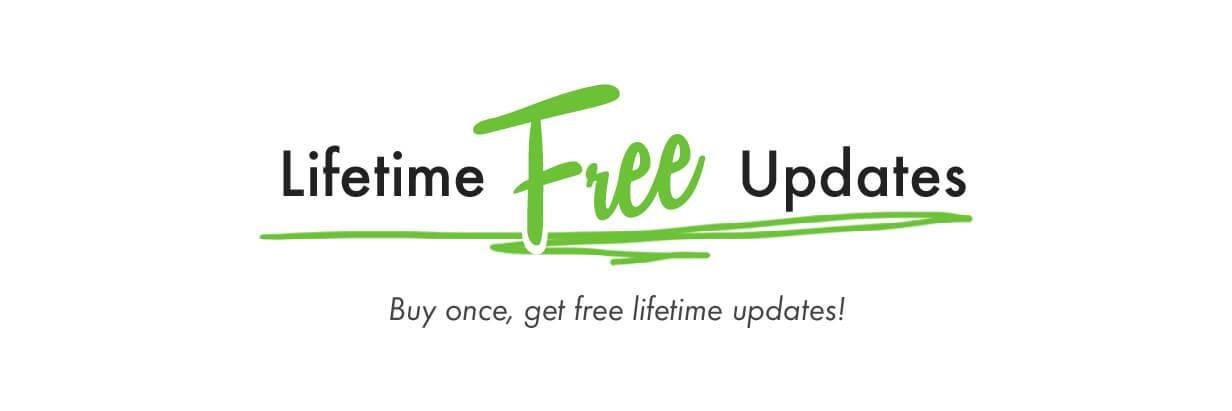 Lifetime Free Updates