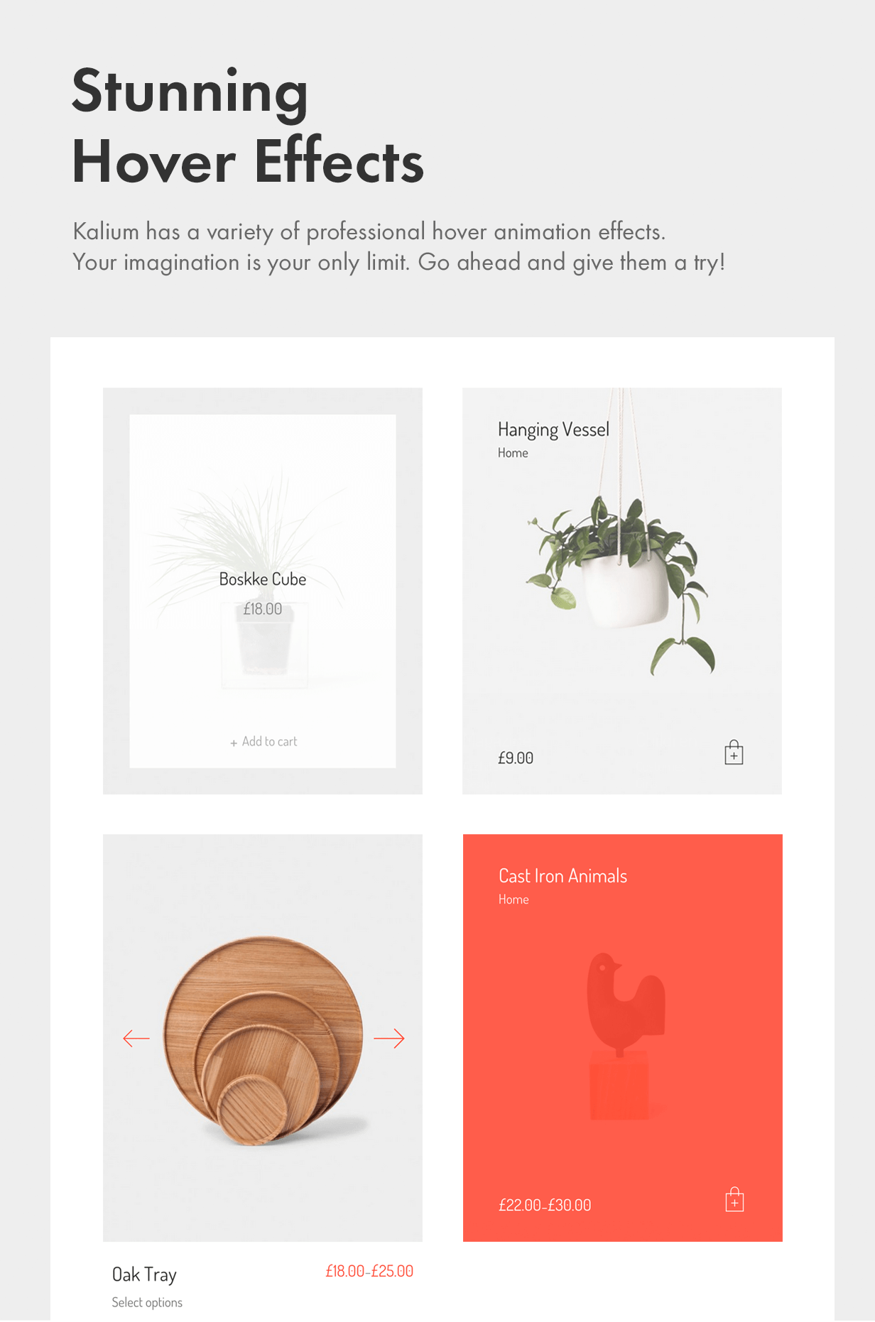 Stunning Hover Effects