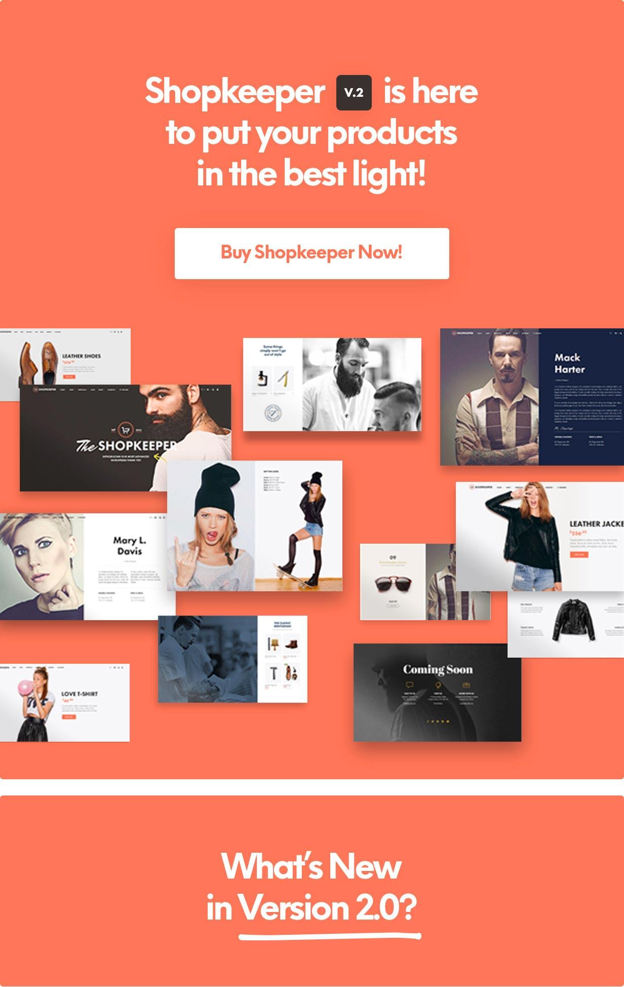 Shopkeeper - eCommerce WP Theme for WooCommerce - 3