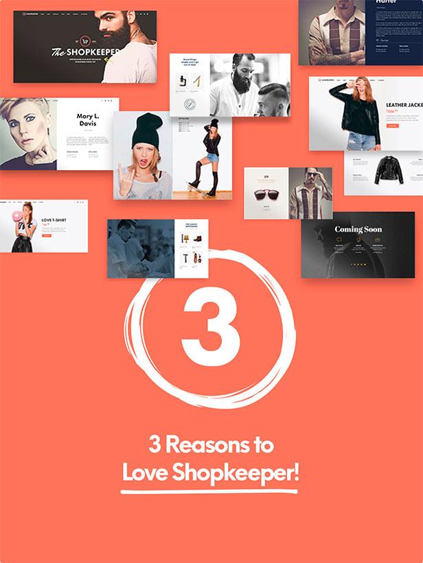 Shopkeeper - eCommerce WP Theme for WooCommerce - 9