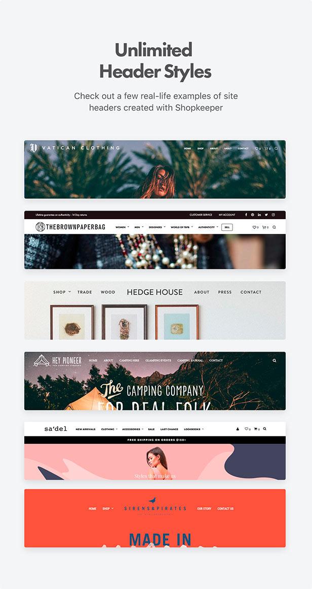 Shopkeeper - eCommerce WP Theme for WooCommerce - 14