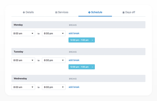Bookly PRO –Appointment Booking and Scheduling Software System - 134