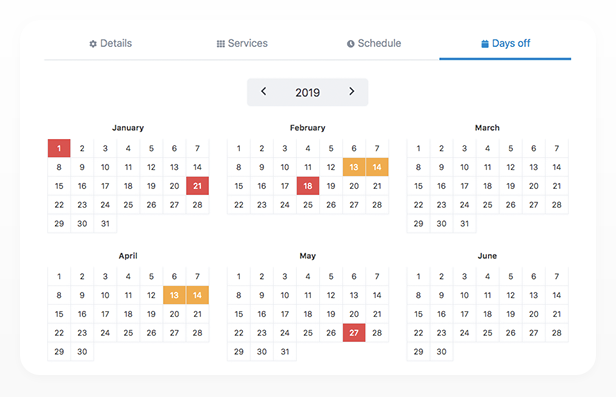 Bookly PRO –Appointment Booking and Scheduling Software System - 182