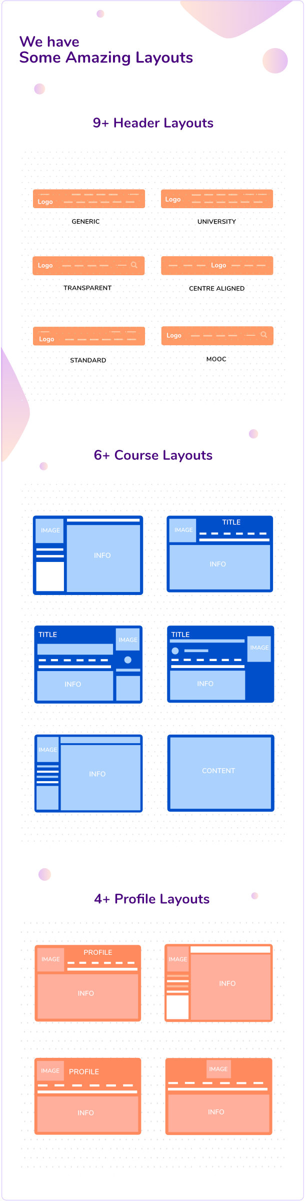 WPLMS Layout options