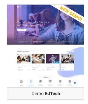 Education WordPress theme - Edtech