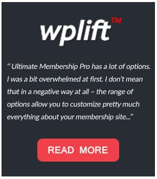 Ultimate Membership Pro - WordPress Membership Plugin - 90