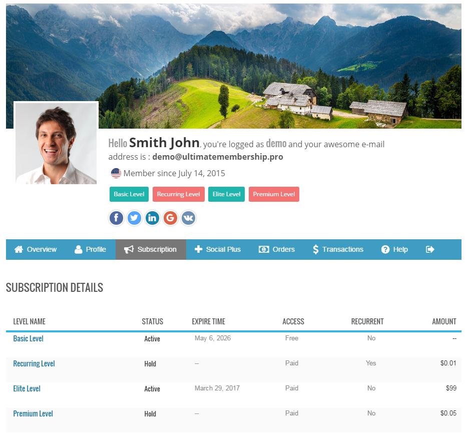 Ultimate Membership Pro - WordPress Membership Plugin - 112