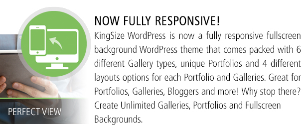 Now Fully Responsive