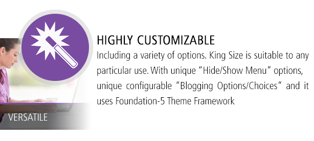 Highly Customizable WordPress Template