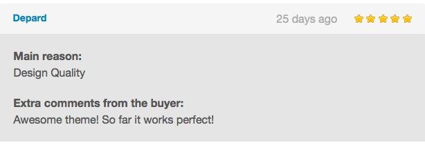 Buyer Testimonials