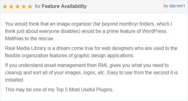 WordPress Real Media Library - Media Categories / Folders File Manager - 34