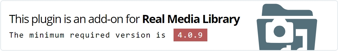 WordPress Real Media Library - Media Categories / Folders File Manager - 33