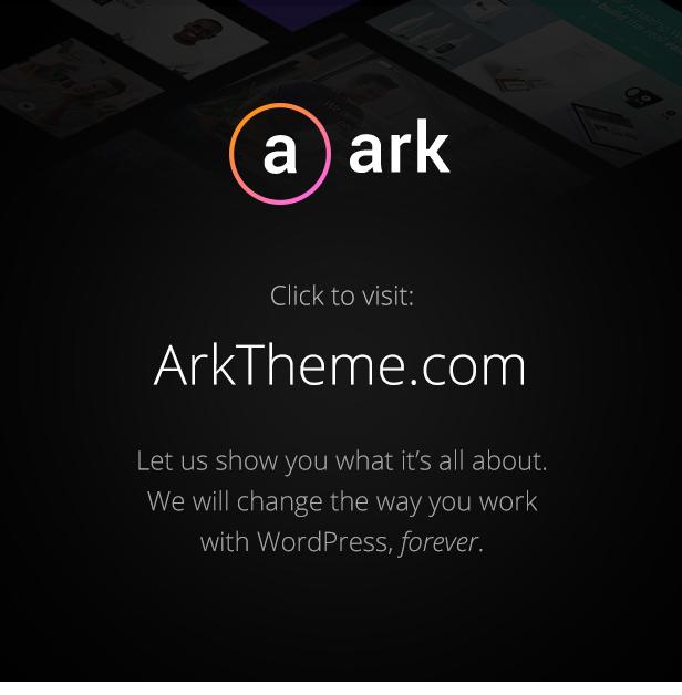 The Ark   WordPress Theme made for Freelancers - 3
