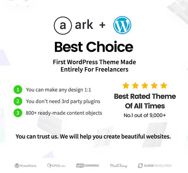 The Ark   WordPress Theme made for Freelancers - 4