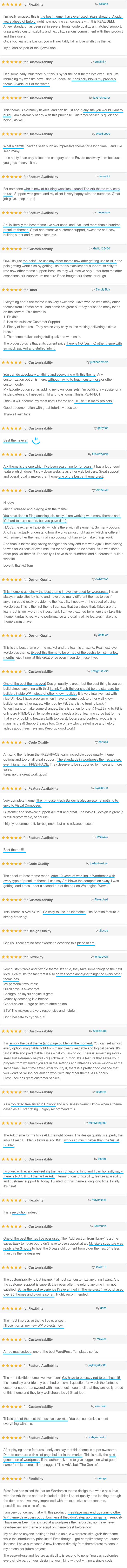 The Ark   WordPress Theme made for Freelancers - 10