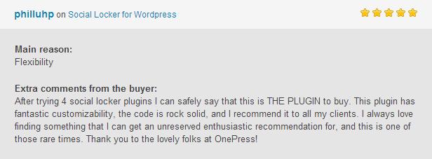 Social Locker for WordPress - 14