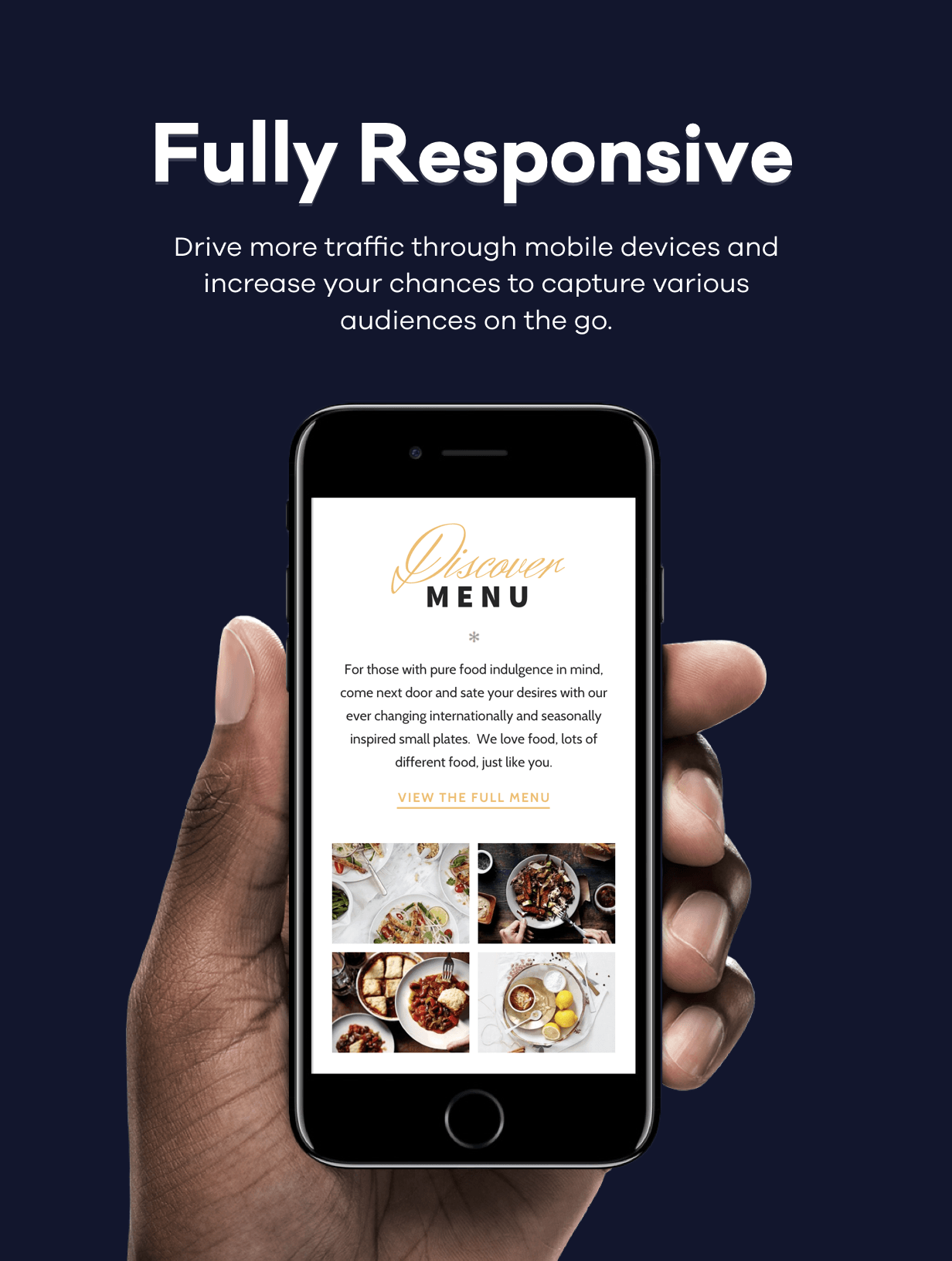 ROSA 1 - An Exquisite Restaurant WordPress Theme - 2