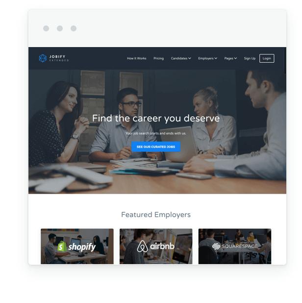 Jobify - WordPress Job Board Theme - 8