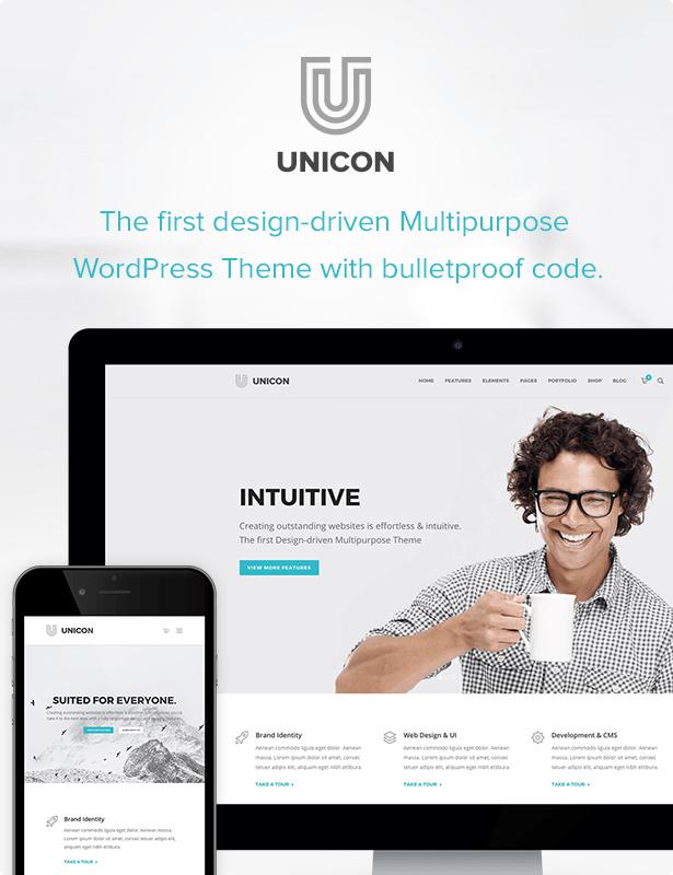 Unicon   Design-Driven Multipurpose Theme - 2