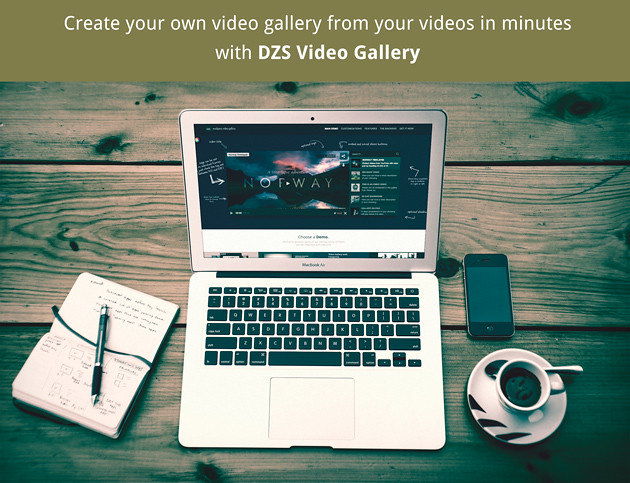 create your own video gallery in minutes