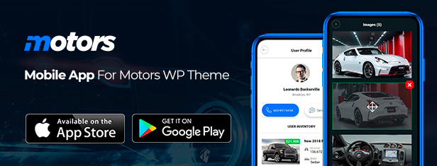 Motors - Car Dealer and Rental, Classified WordPress theme - 3