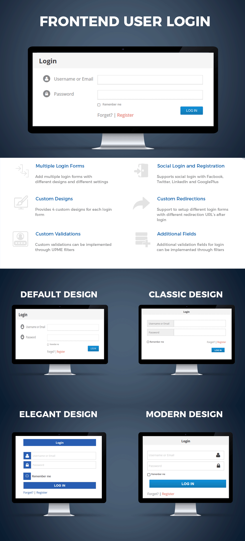 User Profiles Made Easy - WordPress Plugin - 15