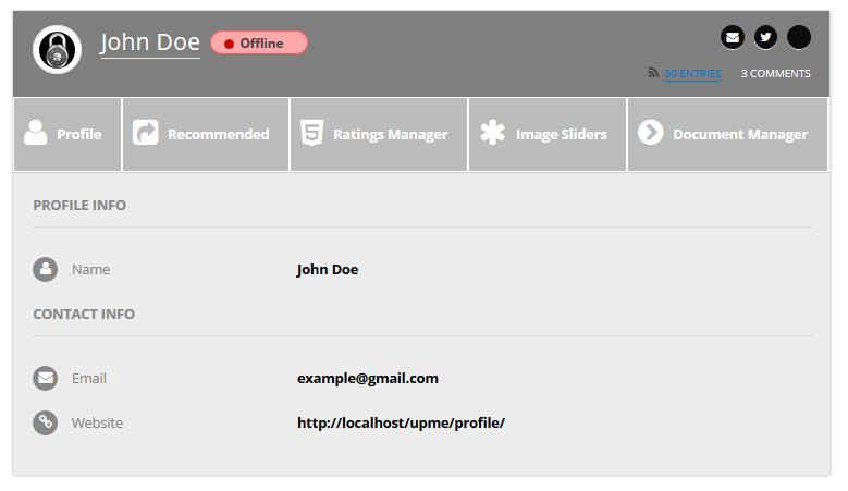 User Profiles Made Easy - WordPress Plugin - 243