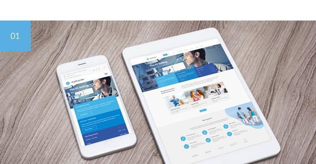 clinic, hospital, doctor, beauty, health and medical WordPress Theme