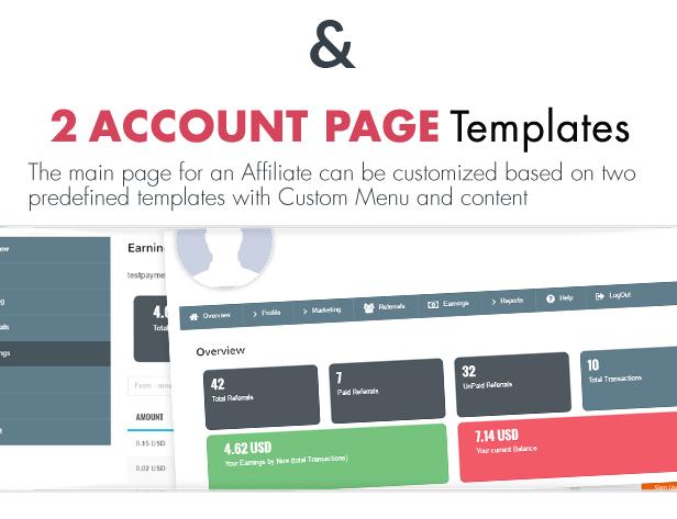 Ultimate Affiliate Pro WordPress Plugin - 64