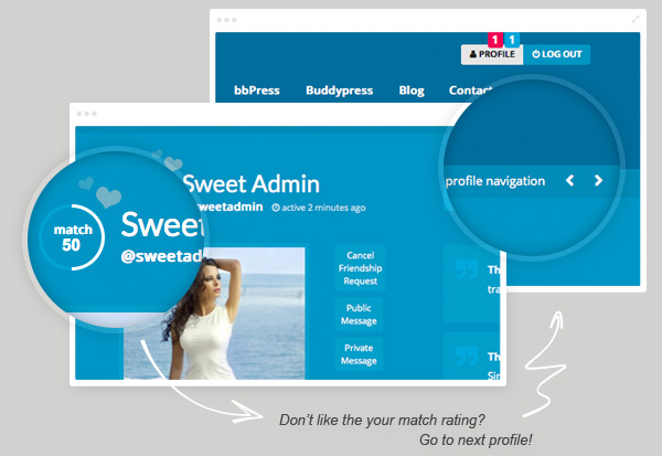 Sweet Date - More than a WordPress Dating Theme - 8