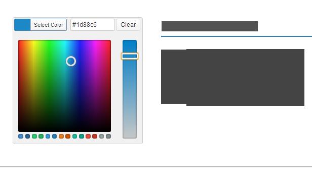 Mega Menu Unlimited Colors