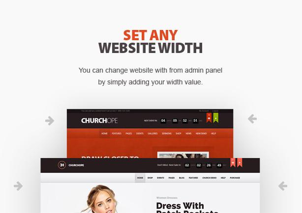 ChurcHope - Responsive WordPress Theme - 6