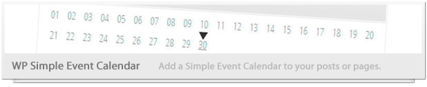 Wordpress Pro Event Calendar - 7