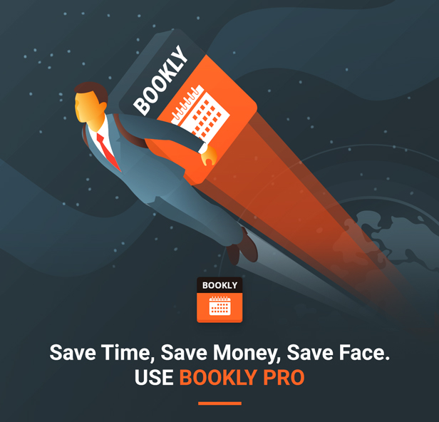 Bookly PRO –Appointment Booking and Scheduling Software System - 1