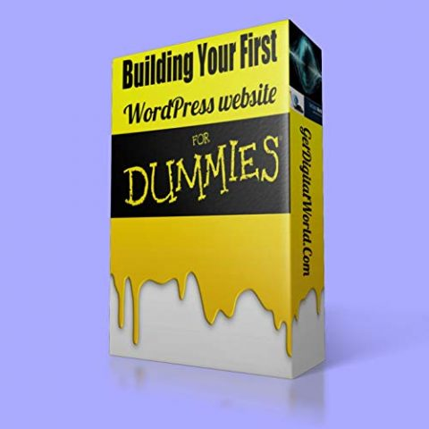 Building Your First WordPress Website For Dummies