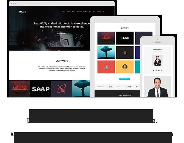 Dante - Responsive Multi-Purpose WordPress Theme - 1