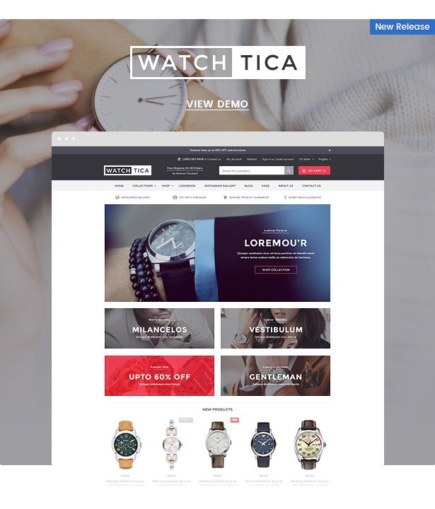 Ella - Responsive Shopify Template (Sections Ready) - 4