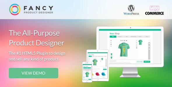 Fancy Product Designer | WooCommerce WordPress