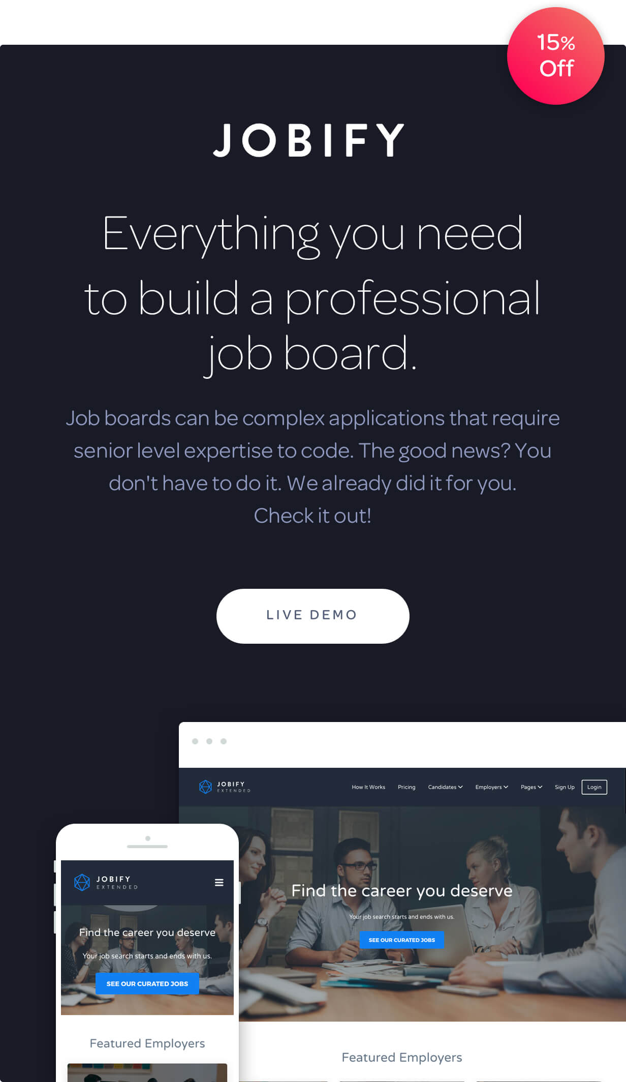 Jobify - WordPress Job Board Theme - 4