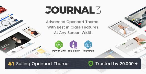 Journal - Advanced Opencart Theme