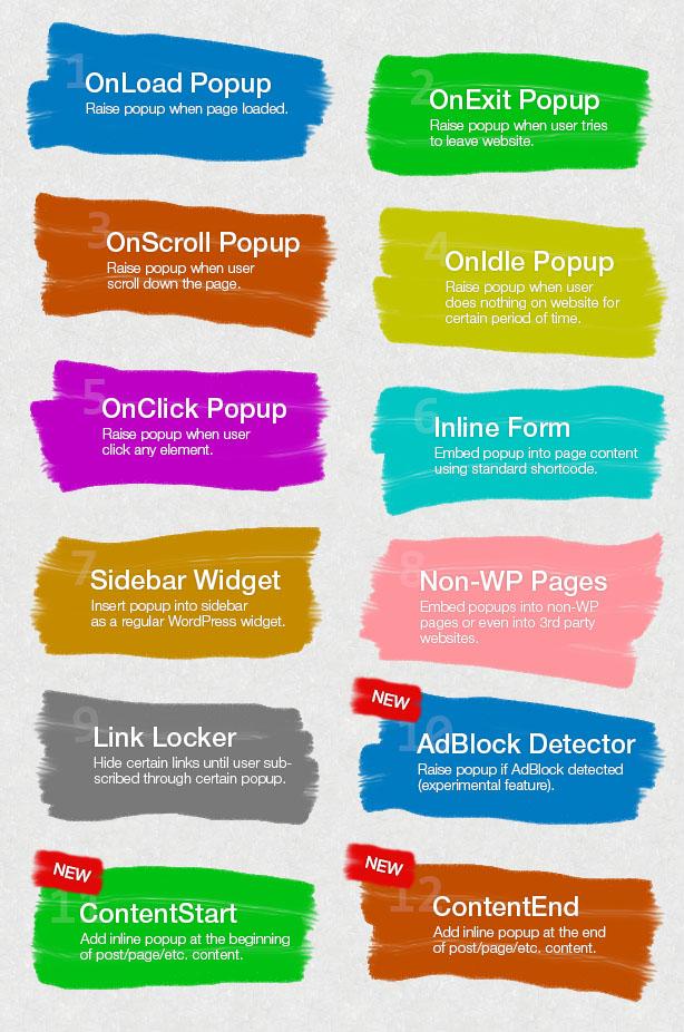 Popup Plugin for WordPress - Layered Popups - 7