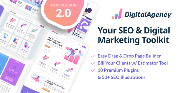 SEOWP | SEO & Digital Marketing WordPress Theme