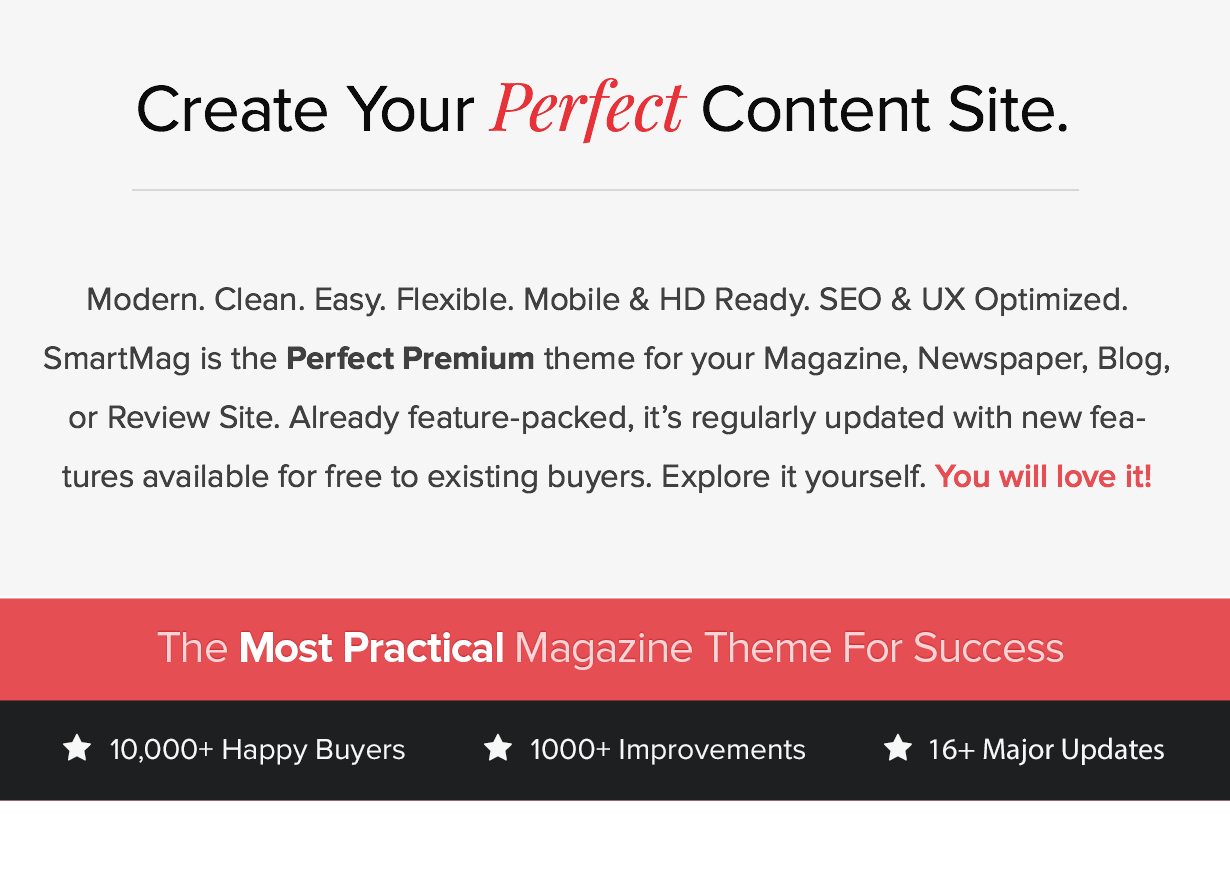 Most Popular WP Magazine, Newspaper, Blog WordPress Theme of 2017 with Lifetime Free Updates and Support