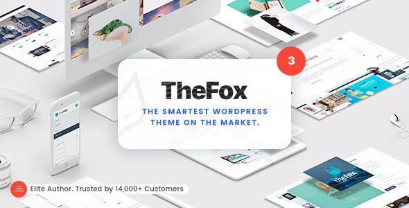 TheFox | Responsive Multi-Purpose WordPress Theme