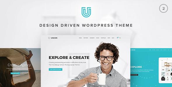 Unicon   Design-Driven Multipurpose Theme