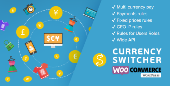 WooCommerce Currency Switcher - Multi Currency and Multi Pay for WooCommerce