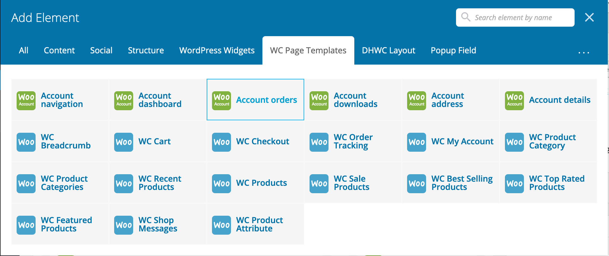 DHWCPage - WooCommerce Page Template Builder - 4